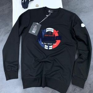 MONCLER MEN CREW NECK SWEATSHIRT NEW WITH TAGS